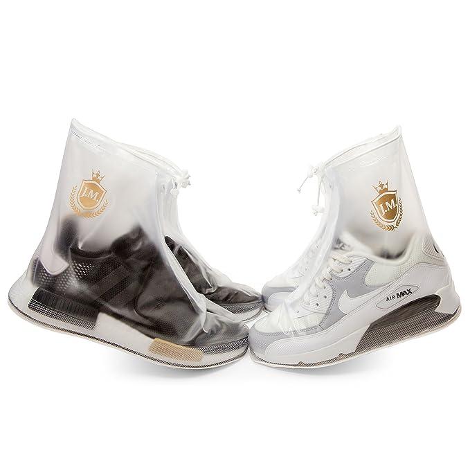 8bfe67fff7765 Waterproof Shoe Covers | Reusable | Men Women Kids | Slip Resistant Rain  Shoe Covers