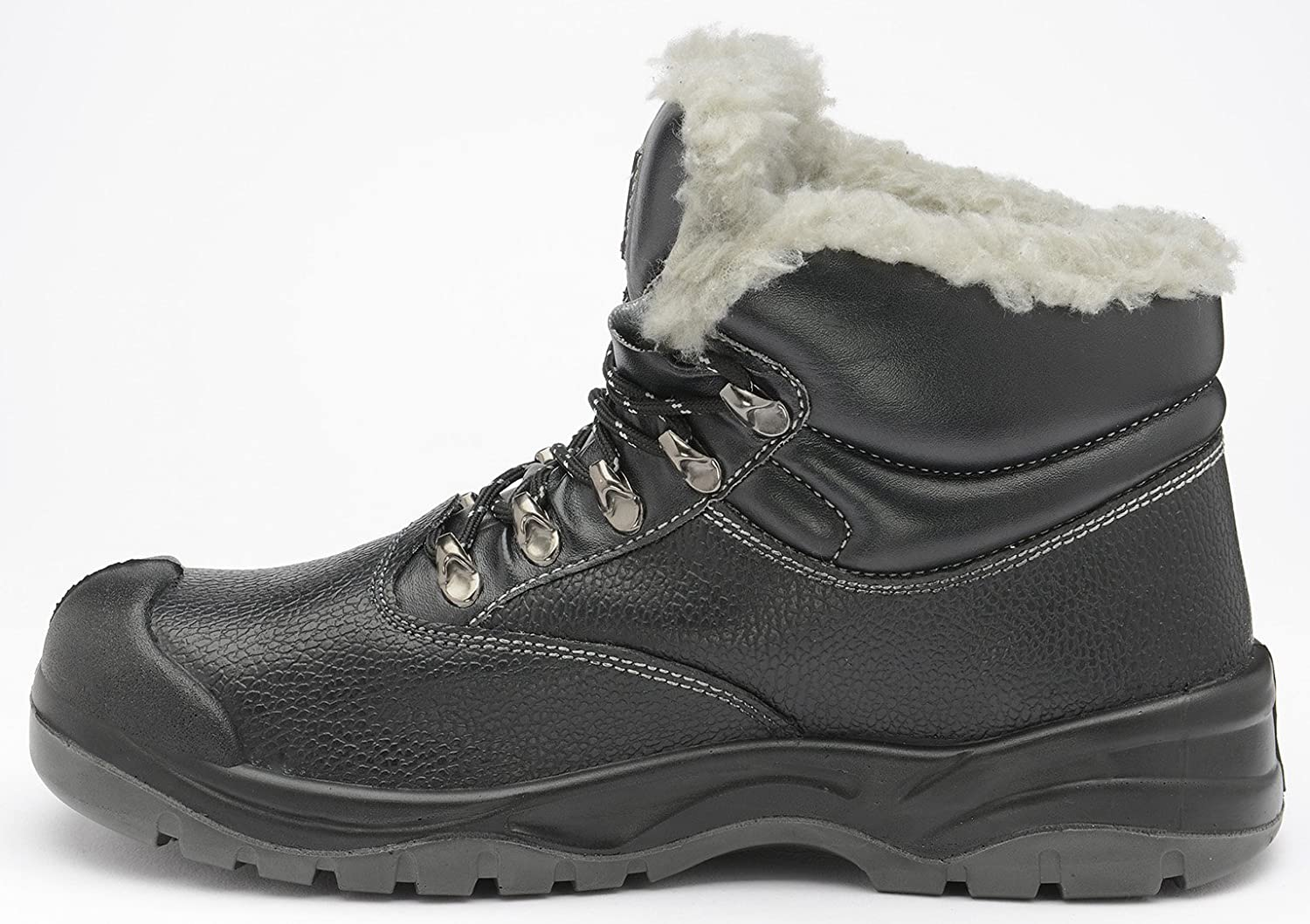3d65d6504a7 Zephyr Z001F S3 SRC Mid Cut Steel Toe Cold Work Thermal Winter Safety Boots