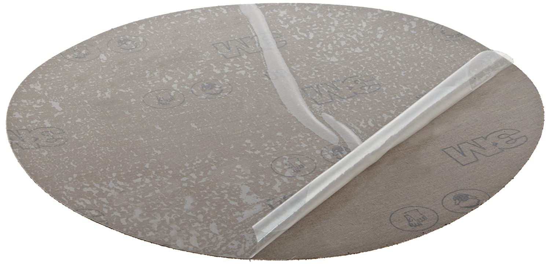 3M PSA Cloth Disc 348D, 80 X-weight, 12 in x NH, Die 1200B A1kN4AFDkOL
