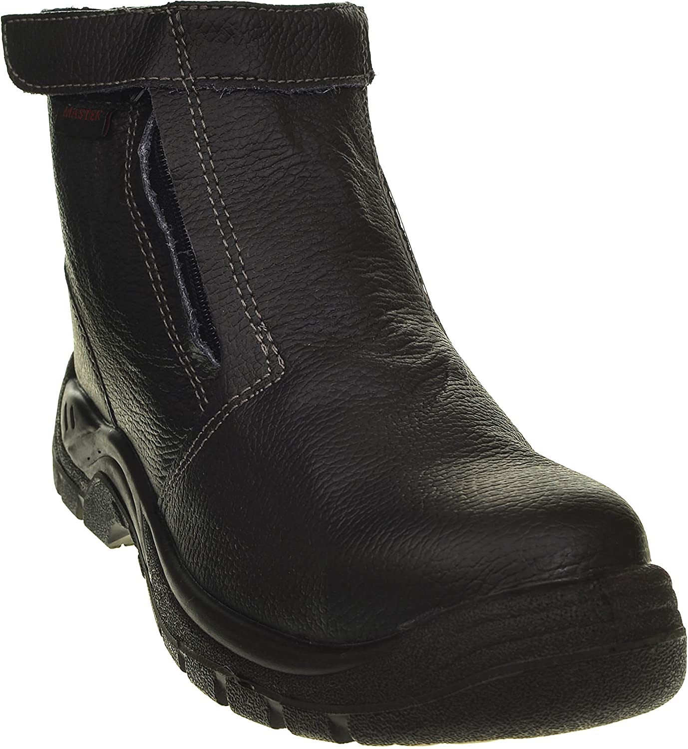 Mens Master Velcro Ankle Boots Work