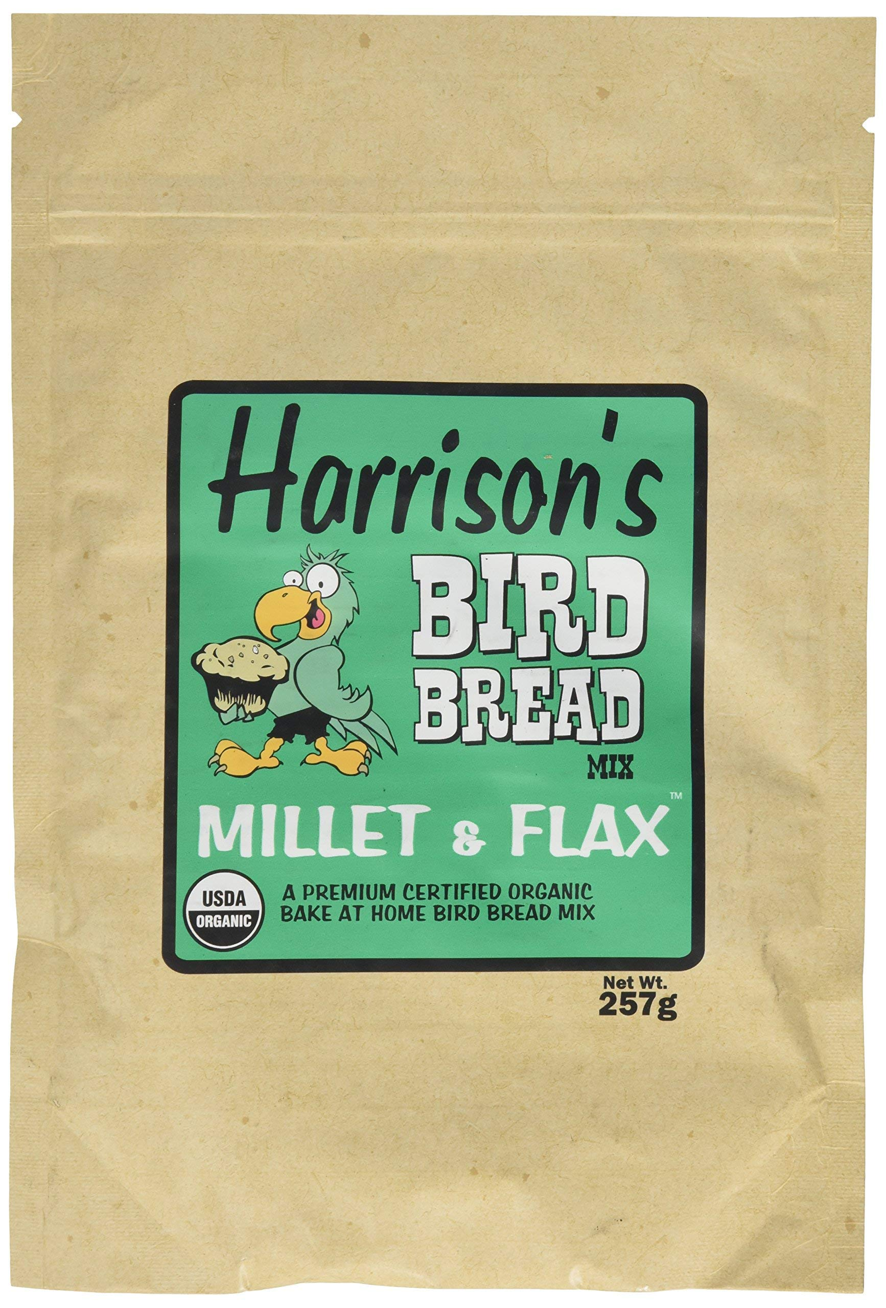 Harrison's Bird Bread Mix - Millet and Flax by Harrison's Bird Foods