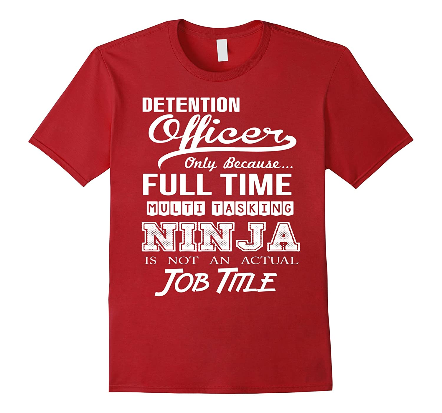 Detention Officer T-Shirt-TH