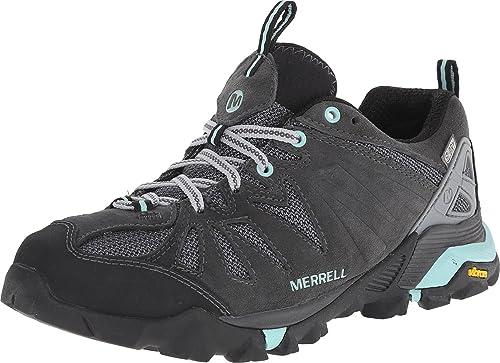 Merrell Capra - Zapatillas de Senderismo Impermeables, Color Gris, Talla 43 EU: Amazon.es: Zapatos y complementos