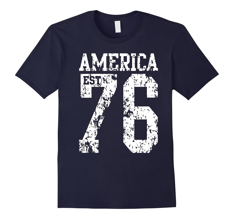 America EST 1776 T-Shirt-Vaci