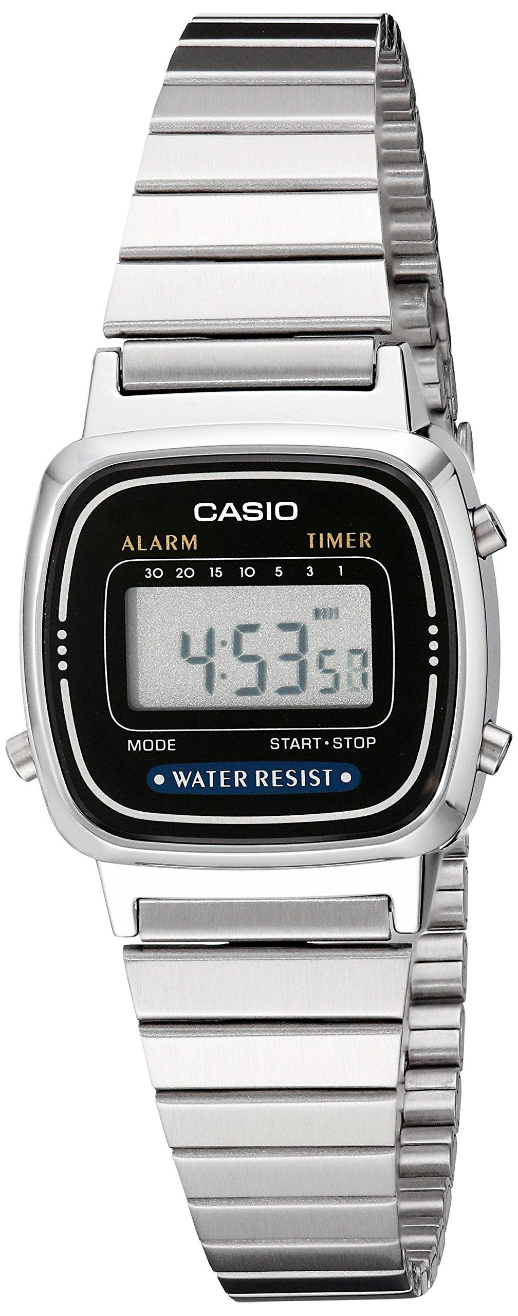 Casio Women's LA670WA-1 Daily Alarm Digital Watch by Casio