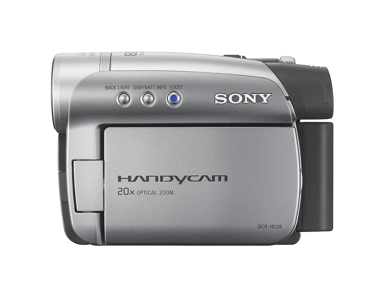 amazon com sony dcr hc28 minidv handycam camcorder with 20x rh amazon com Sony Handycam Digital 8 Camcorder Sony Handycam PDF Manuals