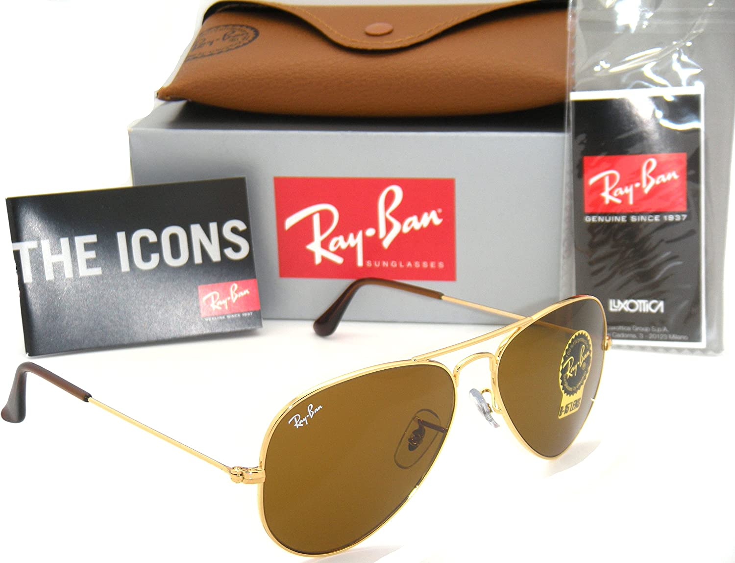 ray ban aviator authenticity check