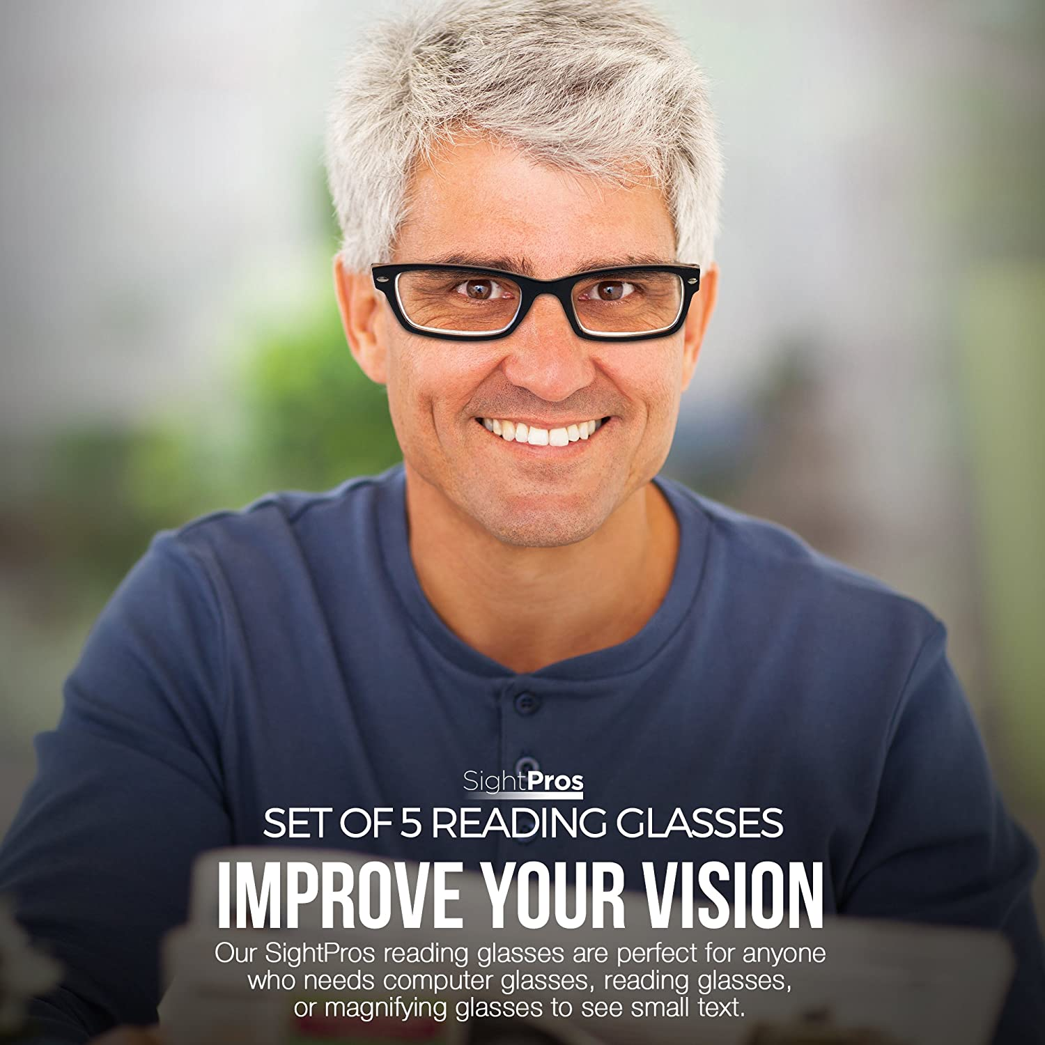 155e48d33ad5 Amazon.com  SightPros Reading Glasses - See Clearly up close -