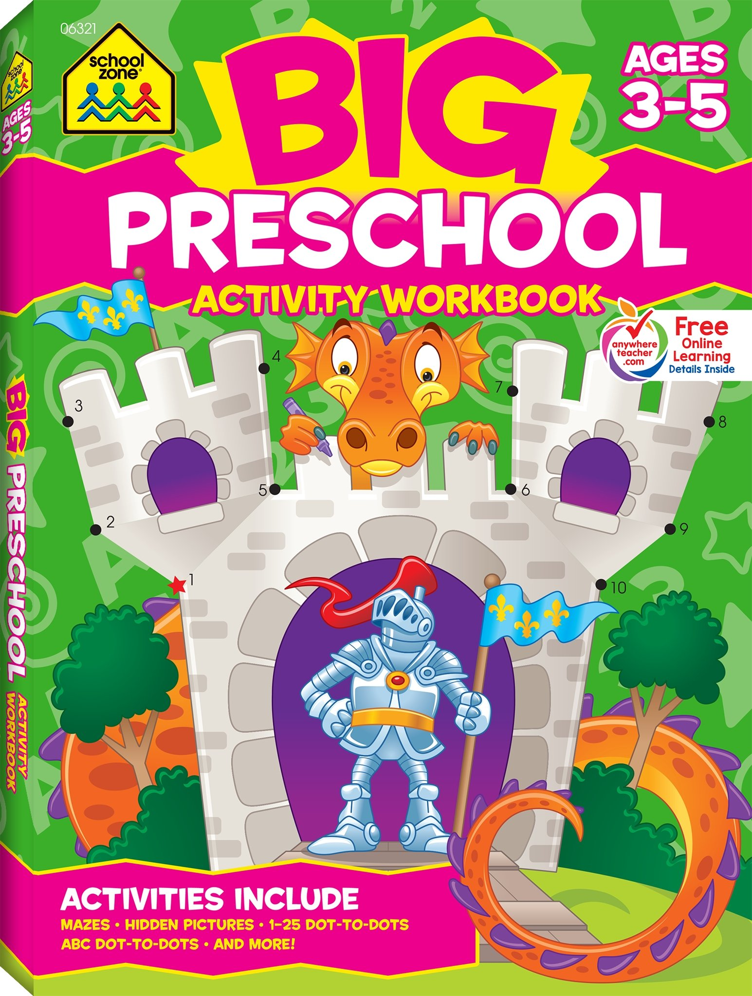 Big Preschool Activity Workbook Ages product image