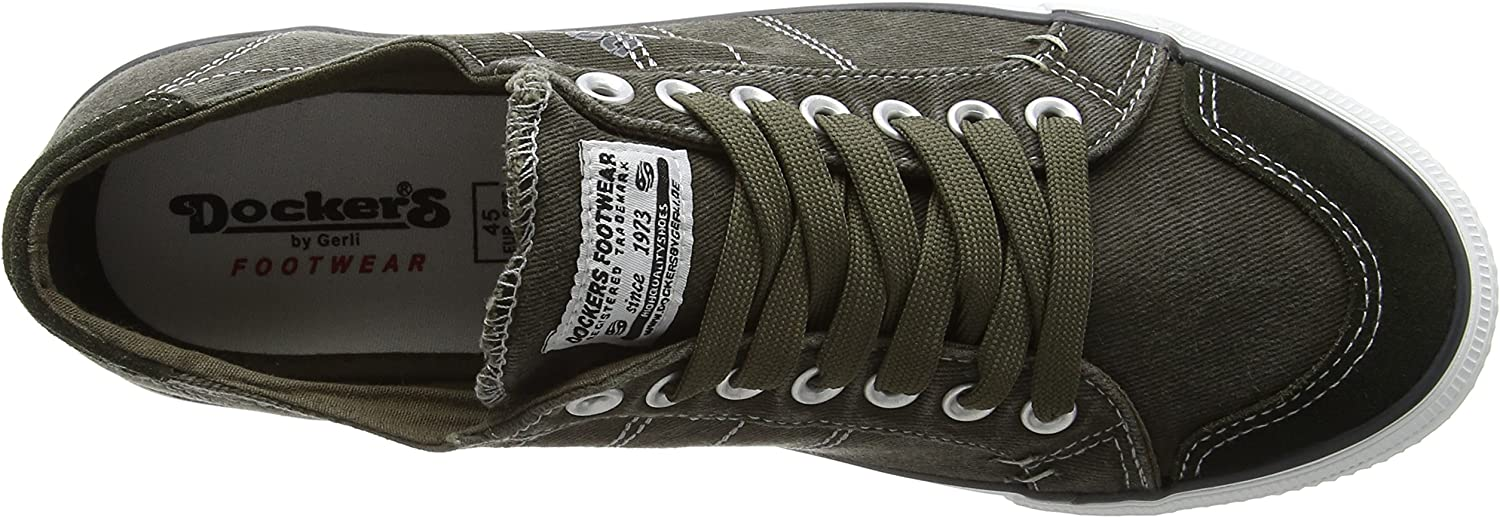 Dockers by Gerli 38ay662 Low Cut Sneaker Retro Basses Loisirs Chaussure Lacée