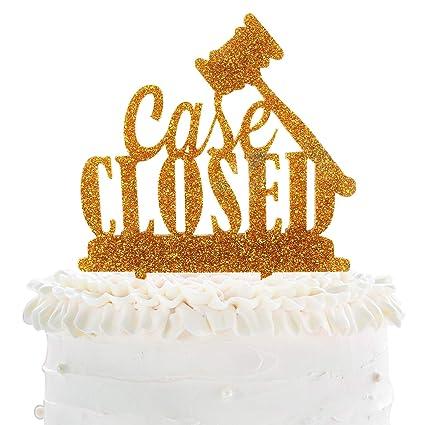 Amazon Com Lingpar Case Closed Cake Topper Perfect Acrylic