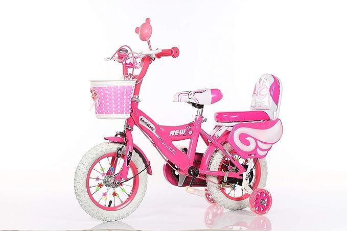 GEEKBOT Bicicleta niña 12 Pulgadas - Niña 3-6 años de Edad ...