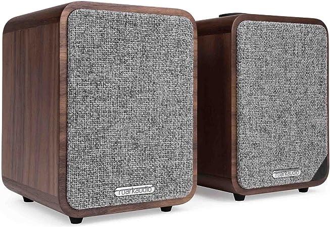 Ruark Audio Mr1 Mkii Bluetooth Aktivlautsprecher Rich Walnuss Audio Hifi