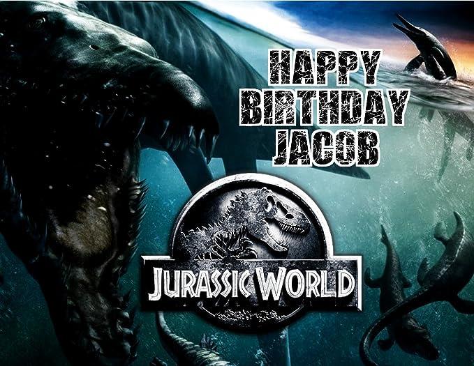 Jurassic World dinosaurio parque jurásico comestible ...