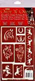 Armour 21-1677 Stencil Horses Crafts Supplies