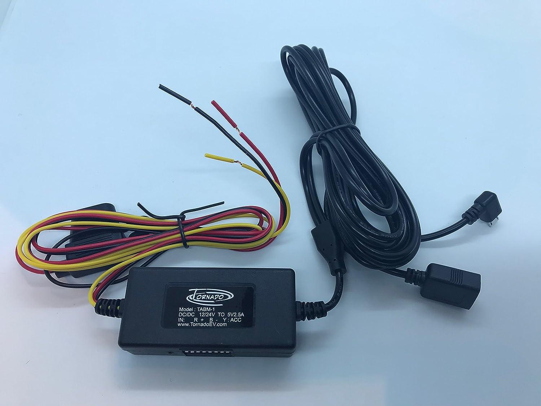 Tornado Advanced Dashcam Hardwire Kit - Battery Monitor: Amazon.co ...
