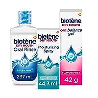 biotène Dry Mouth Management Kit Moisturizing Spray & Gel, 1 Count