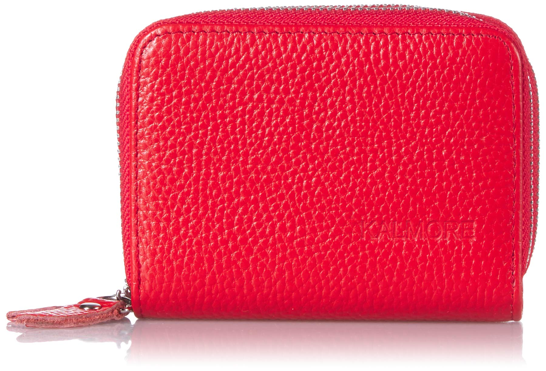 KALMORE Wallets for Women, Red, 4''x3.2''x1.25''