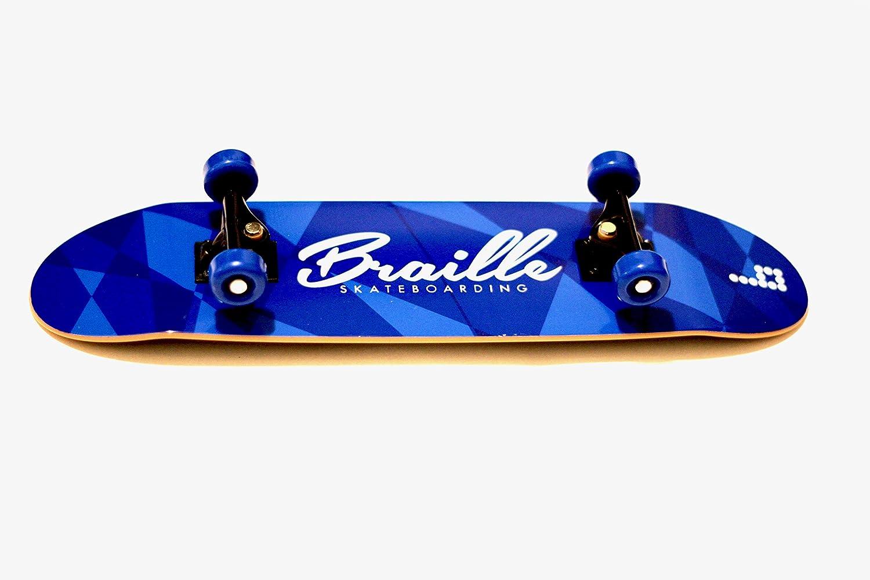 "Braille skate board a mano mano Skate//Aaron Kyro Straight 80/'s mano Board 11/"" Deck"