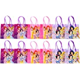 "Disney Princess Party Favor Goodie Gift Bag - 6"" Small Size (12 Packs)"