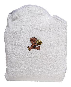 Manos libres para bebé con capucha toalla 100% baño de algodón envoltura de seguridad delantal