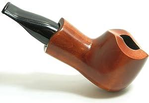 Mr. Brog Bulldog Tobacco Pipe - Model No: 52 Scoot Pecan - Pear Wood Roots - Hand Made