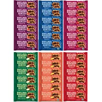 Nature's Bakery Stone Ground Whole Wheat Fig Bar (36 COUNT) Variety Pack Sampler, All Natural NON GMO Snack Food come in Blue Ribbon Box - Care Package Gift for Men, Women, College Students,Offices