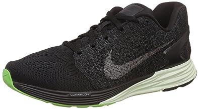 Nike Damen WMNS Lunarglide 7 Flash Laufschuhe, Black