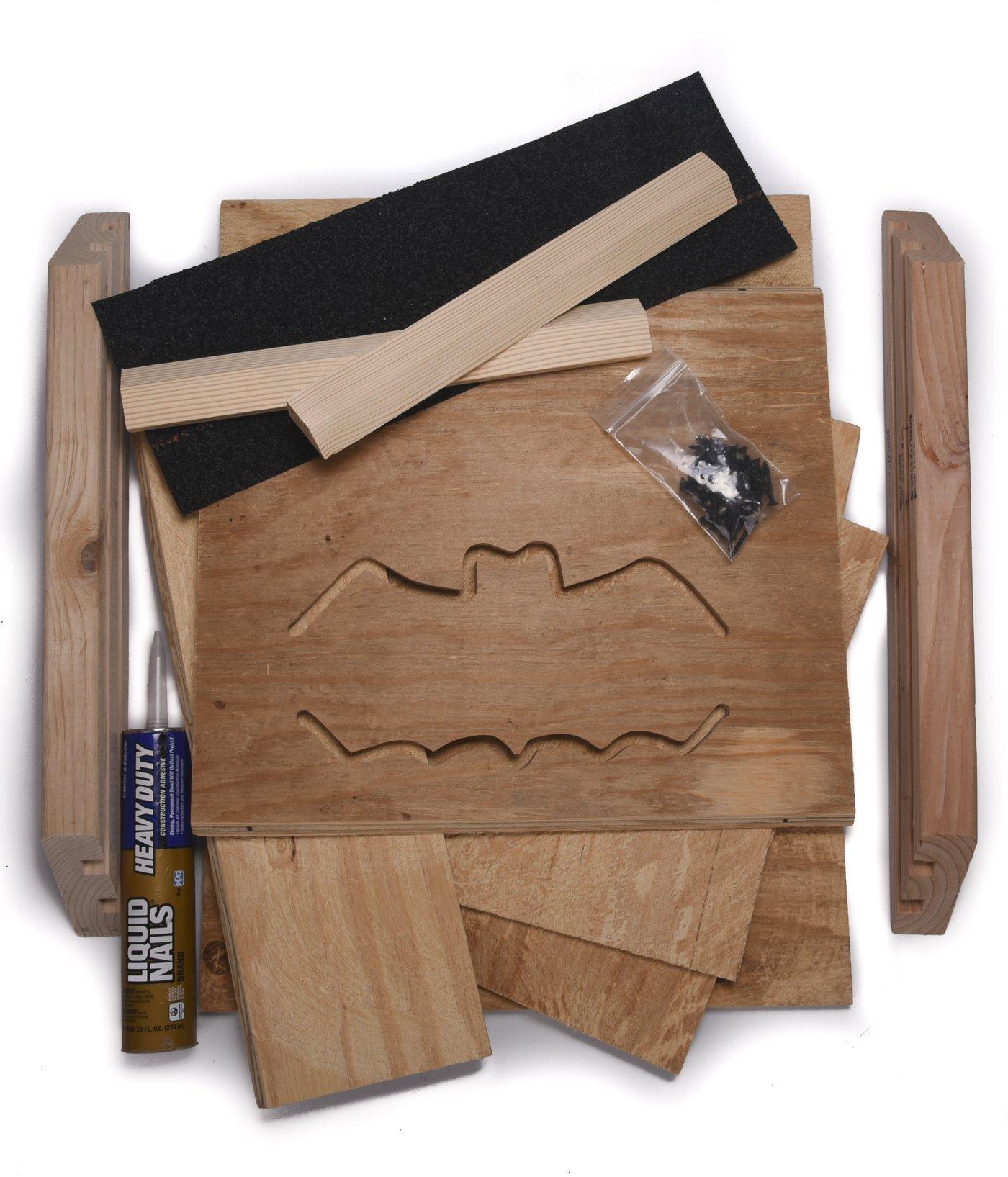 Bat Conservation and Management 3-Chamber Bat House Kit