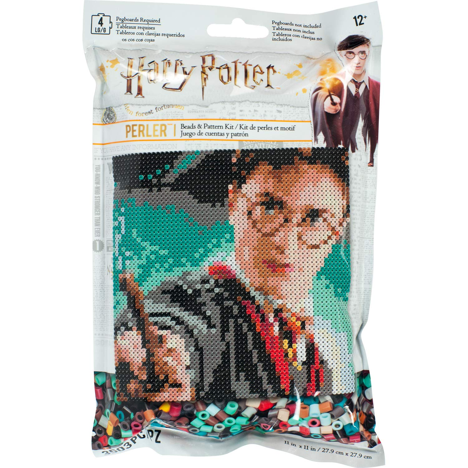 Hama Beads Kit Edicion Harry Potter 3000 Unidades (xsr)