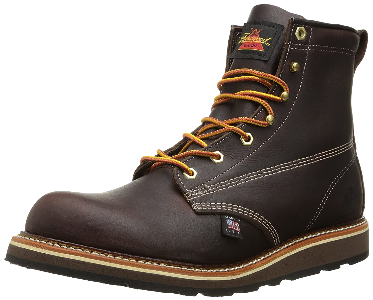 Thorogood Men's American Heritage 6 Inch Plain Toe Boot