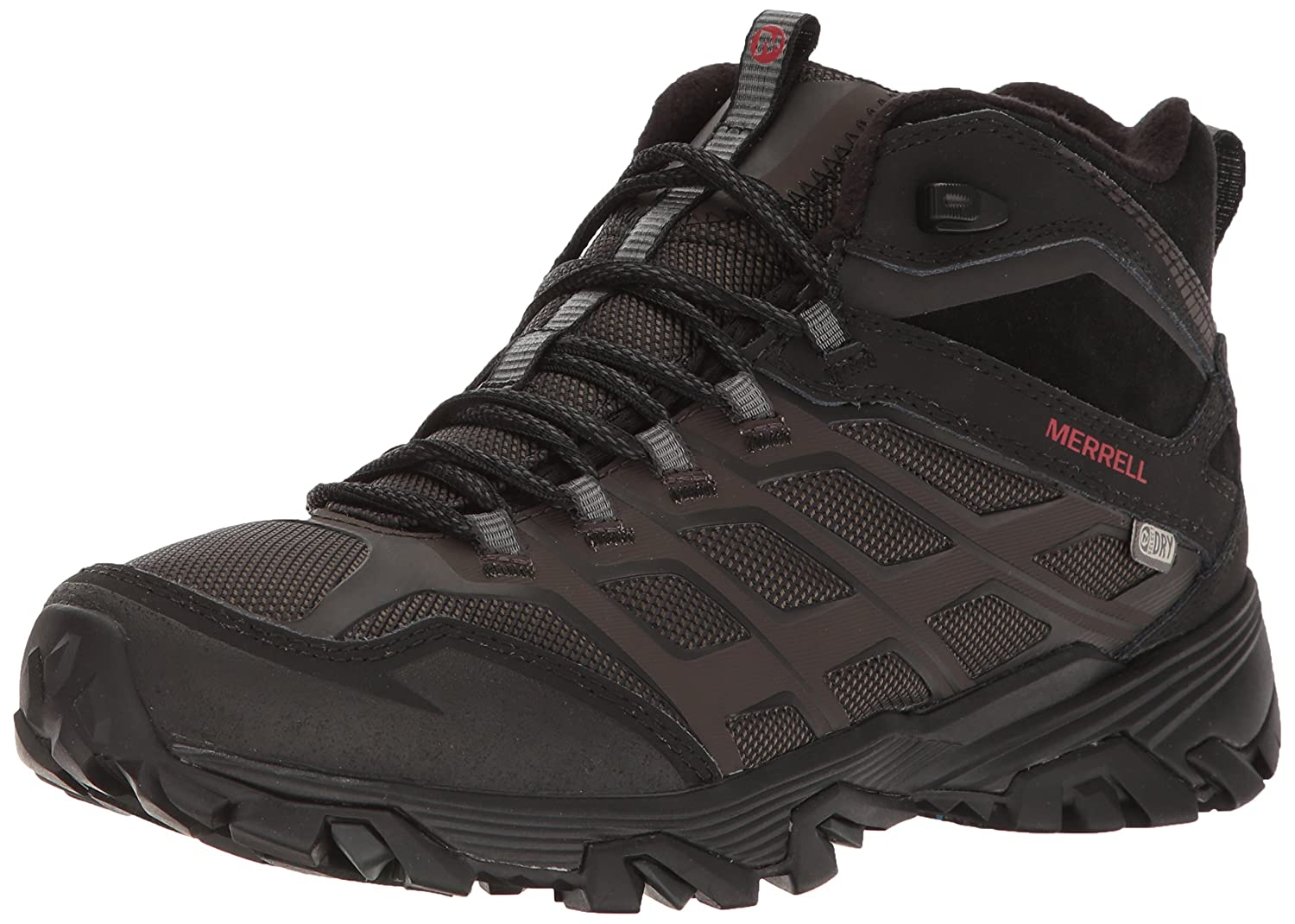 Merrell Men's Moab FST Ice+ Thermo Hiking Boot 11.5 D(M) US|Black