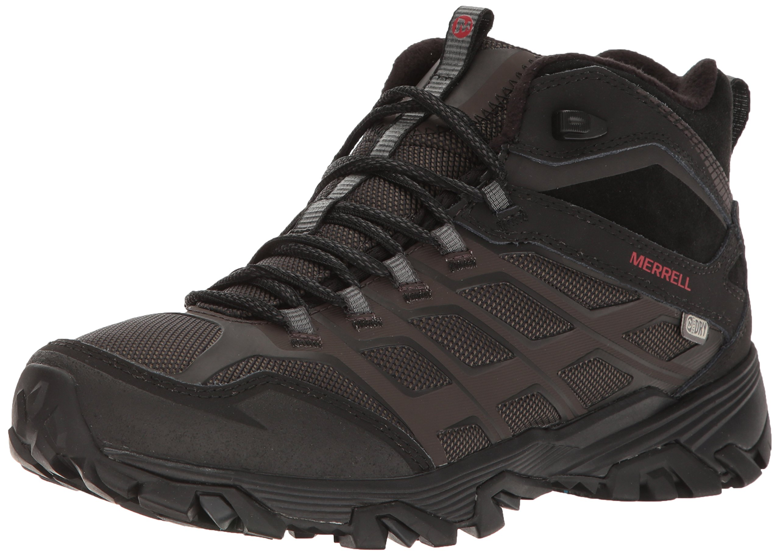 Merrell Men's Moab FST Ice + Thermo Winter Boot, Black, 9.5 M US by Merrell