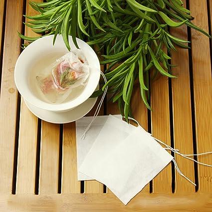 Bolsa de 200pcs Filtro bolsitas de té vacías vacío ...