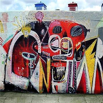 Amazoncom Aofoto 10x10ft Street Graffiti Backdrop Grunge Music