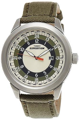 Timex Expedition analógica Multicolor Dial hombres reloj de - t49822: Amazon.es: Relojes