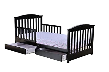 Amazoncom Dream On Me Mission Collection Style Toddler Bed With
