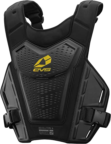 EVS Sports - RV4-BK-S/M Men's Roost Deflector (REVO 4)