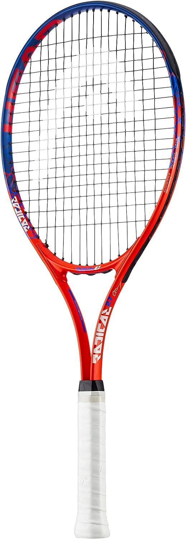 Color Naranja//Azul Head Radical 27 tama/ño Grip 2: 4 1//4 Inch Raqueta de Tenis para Adultos
