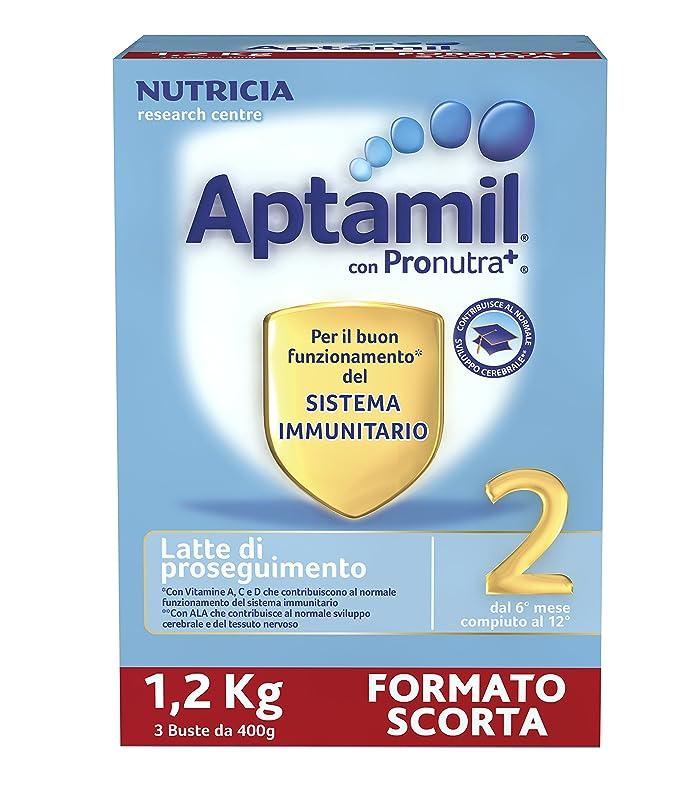2 opinioni per Aptamil 2 Latte in Polvere di Proseguimento- 3 Confezioni x 1200 gr