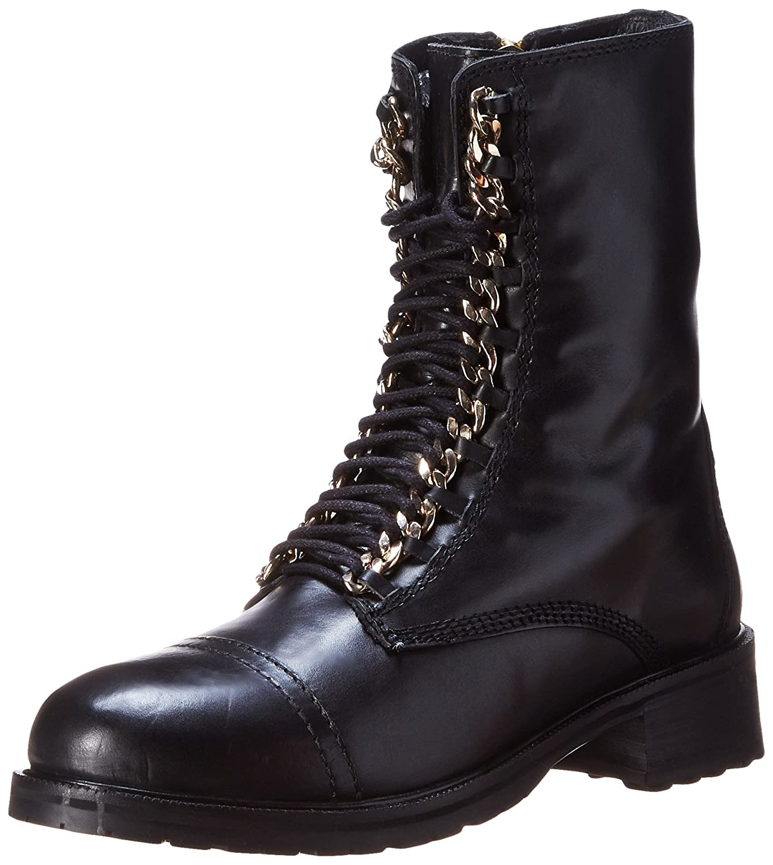 Steve Madden Women's 2 Chain Combat Boot