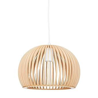 Relaxdays Luminaire Suspension Lampe Plafond Abat Jour En Forme De