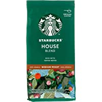 Starbucks House Blend Roast and Ground Coffee, 200g
