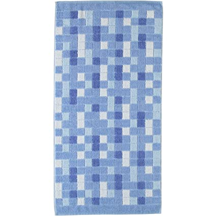 Cawö con diseño de mosaico de pastel de toallas de mano de 198, 100 %