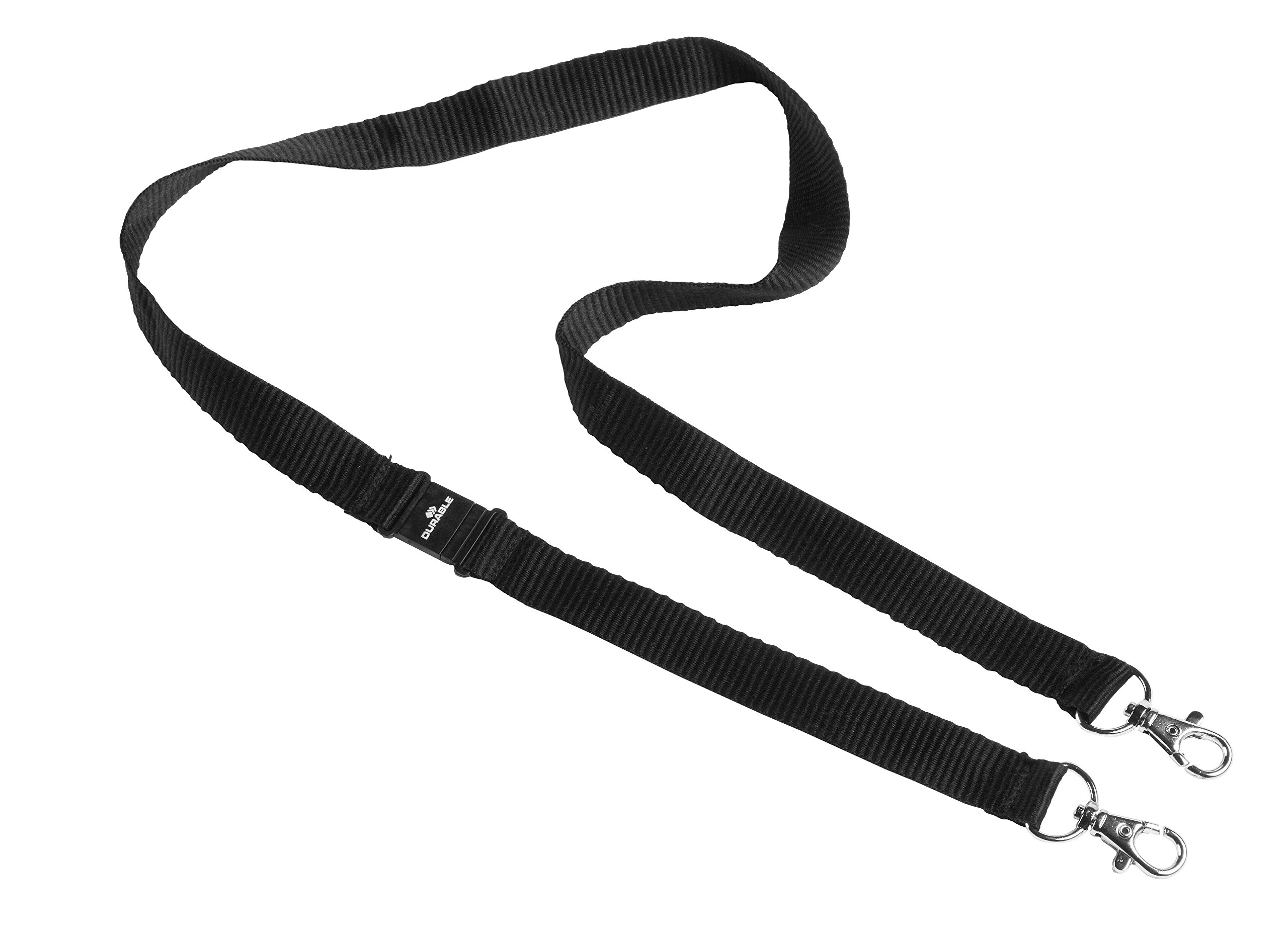 Durable 852701 Textile Tape Duo, 10 pcs, Black by Durable (Image #1)