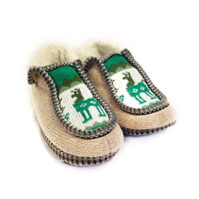 The Argentino Slippers Handmade Moccasin (Real Wool Inside!) from Salta, Argentina | Slippers
