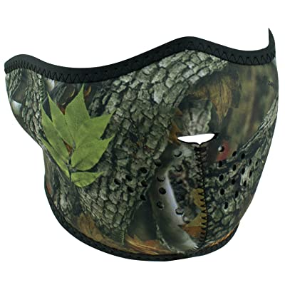 ZANheadgear unisex-adult Neoprene Forest Camo Half Mask: Automotive