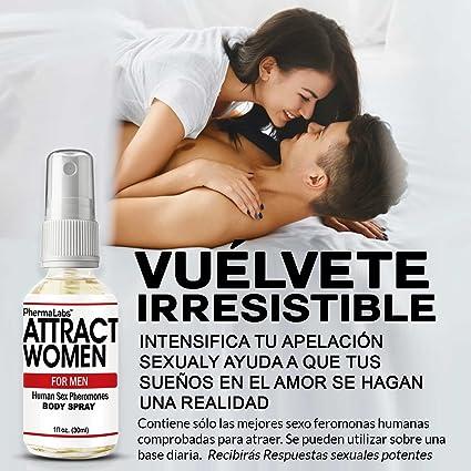 Amazon.com : PhermaLabs Feromonas Body Spray Para Hombre- 1.0 oz- Atraer Mujeres instantáneamente- Mayor Concentración De Feromonas Posible- Aumenta El ...