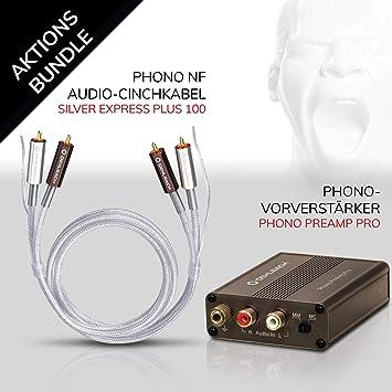 Oehlbach Phono PreAmp Pro Bundle: Amazon.es: Electrónica