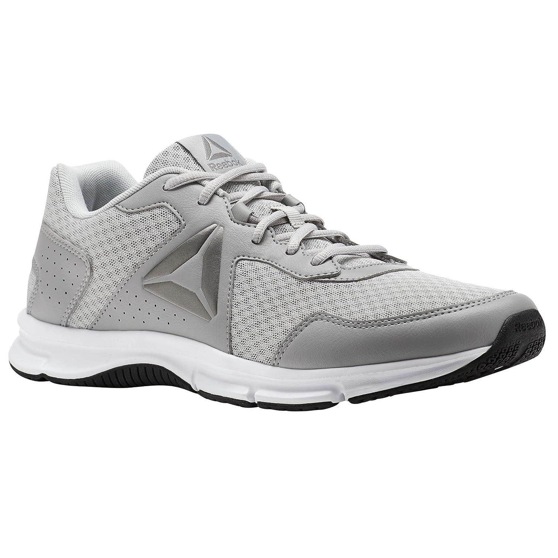 Reebok Express Runner – Scarpe da ginnastica, Uomo, Grigio – (Stark Grey/sull Grey/White/Black/Pewter)